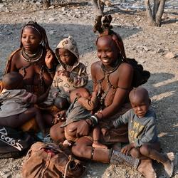 Himba vrouwen Namibie