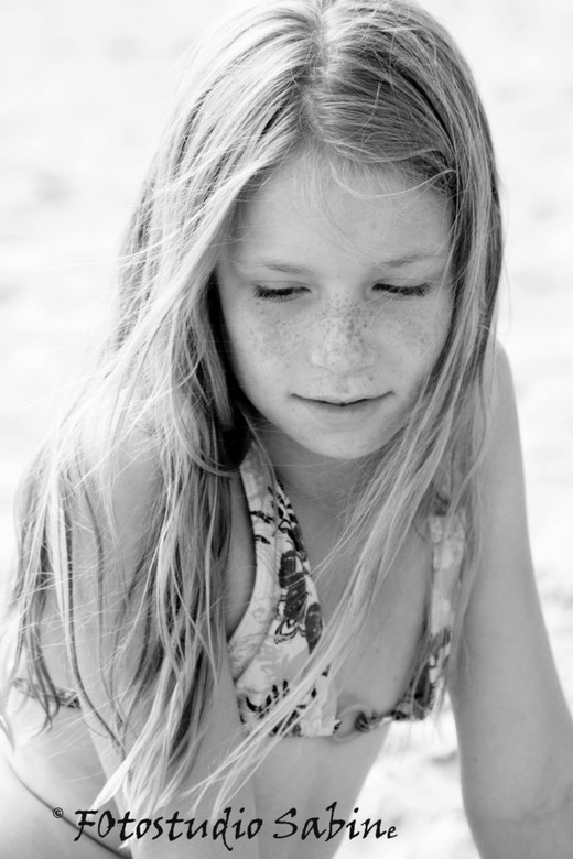 Dewi - Foto gemaakt aan het strand