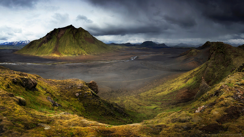 Sprengisandur hooglandroute -IJsland