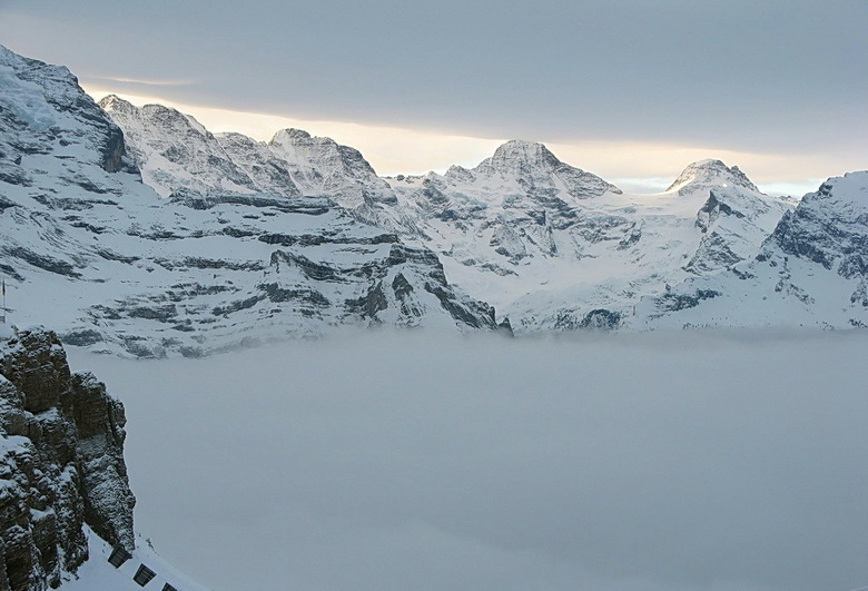 winterlicht - Foto is genomen boven op de Männlichen.<br /> Vond zelf het licht erg mooi.<br /> Hoor wel wat jullie ervan vinden.<br /> Bedankt voo