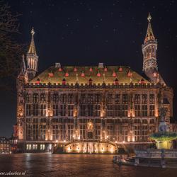 Aachen by night