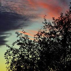 a sky full of art colours