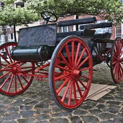 International Harvester Company (IHC) Motorwagon Highwheeler 1908 (7148)
