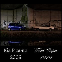Ford Capri VS. Kia Picanto