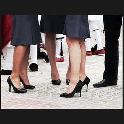 high heels parade