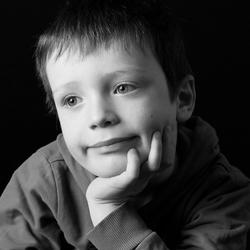 portret jongetje