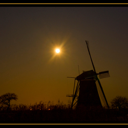 Kinderdijk in winterpracht 6