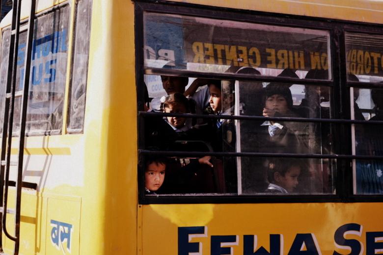 Going to school - Gelukkig kunnen de kinderen, in Nepal ook gewoon naar school!