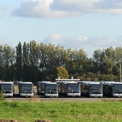P1090476   PK terrein  Hoekse lijn RET  bussen  Maassluis 29 okt 2019