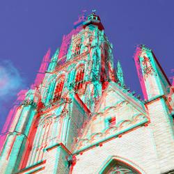 Toren Grotekerk Breda 3D
