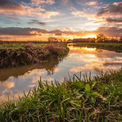 Zonsondergang Zaans Rietveld IMG_6983