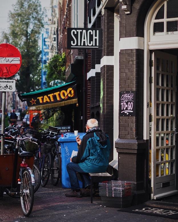 In de straten van Amsterdam - 4 november 2018, het dagelijkse leven in de straten van Amsterdam