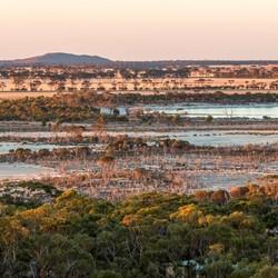 Uitzicht in West-Australie