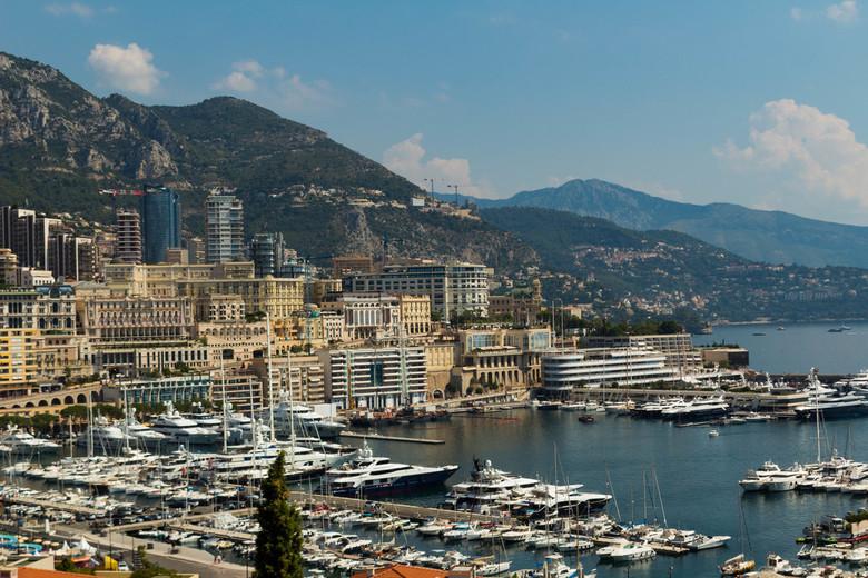 monaco - Een foto van Monaco in mijn zomervakantie.