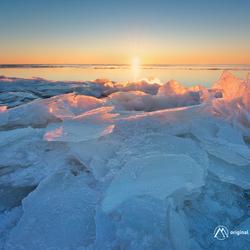 Frozen Sunrise...