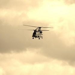 helicopter bewerkt