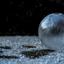 Bevroren zeepbel met kattenpootje