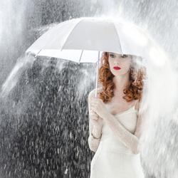 Flour rain...