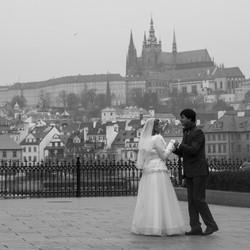 Bruiloft in Praag