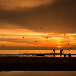 Kayak vissers