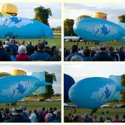 De zeppelin ballon, 1.