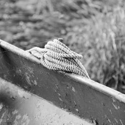 Boot met touw B+W