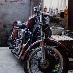 Garage scene...