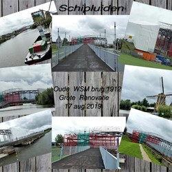 collage    Oude  WSM brug 1912  Grote Renovatie 17 aug 2019
