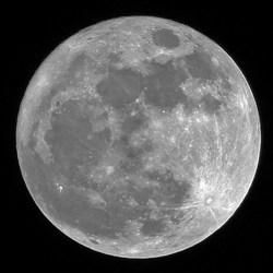 Mooie volle maan