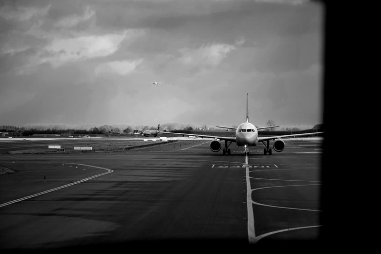 """Big bird - Een paar weekjes geleden: bijna klaar om op te stijgen naar Barcelona, maar eerst onze tegenligger laten passeren <img  src=""""/images/smiley"""