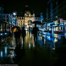 Avondzicht De Keyserlei Antwerpen