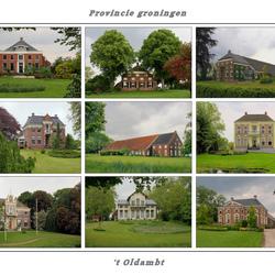 't Oldamt in de provincie Groningen