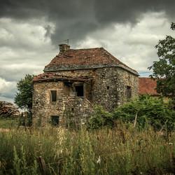 Frans spook huisjes