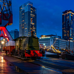 Rotterdam - Leuvehaven by night