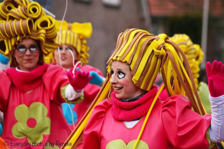 Carnavalsoptocht in Velp (NB)