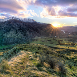 Valley of colors, New Zealand