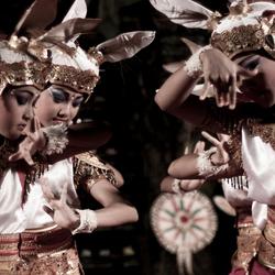 Barong danseressen