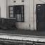 Verlaten treinstation