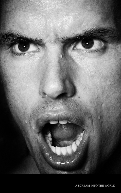 A scream into the world -