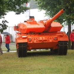 De tank van Oranje