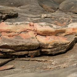 Audresselles met zijn prachtige gekleurde stenen