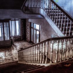 Verlaten hotel