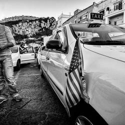 Man en zijn Taxi