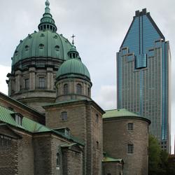 Montreal: oud en nieuw naast elkaar