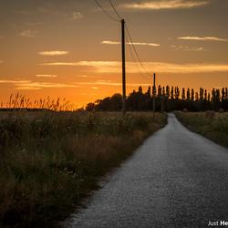 De weg naar de zon.