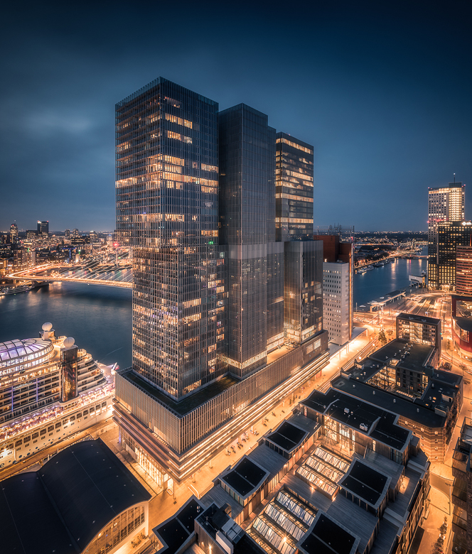 Rotterdam at Night -