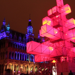 Kerstboom Grote Markt Brussel