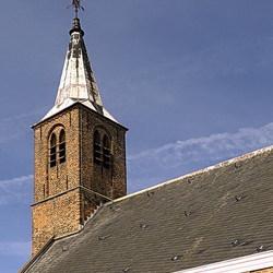 Waalse kerktoren.