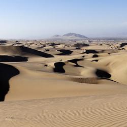 Woestijn in Peru