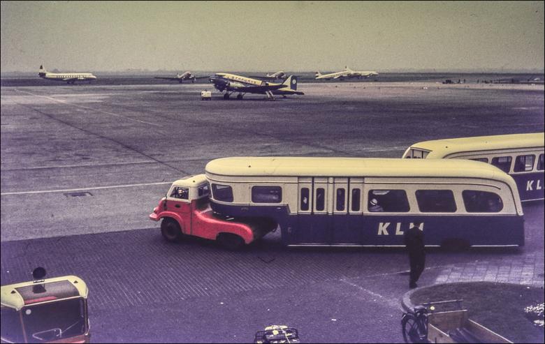 Schiphol jaren 50. - Uit het archief.